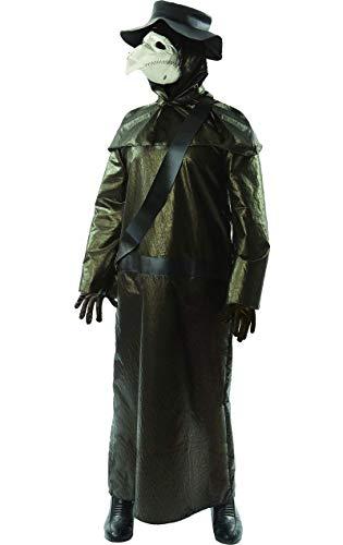 Doktor Kostüm Horror - Erwachsener Herren Mittelalterlichen Pest Doktor Halloween Kostüm Standard