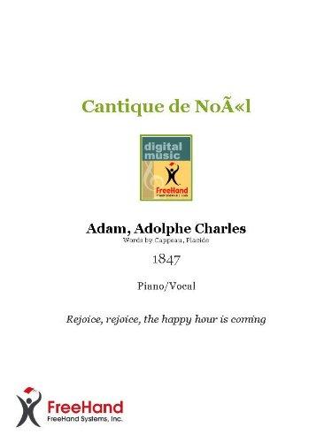 Cantique de Noël (English Edition)