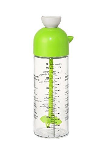 Dispensador de salsas botella–sin BPA y mezclador para saludable, orgánico Aliño, aceite de oliva, condimentos -13.5ml), color verde
