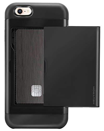 Neutron iPhone 6/6S stoßfest Fall mit Halterung–Schutztasche Kreditkarte Brieftasche Slot - Otterbox-fälle Blau Iphone 6