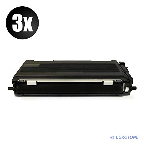 3x Eurotone Cartuccia Toner per Brother MFC 7320 7340 7440 7840 W N sostituisce TN2120