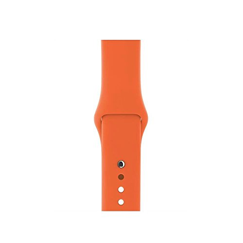 Image of Apple Watch Sportarmband, für Apple Watch 38 mm, orangerot