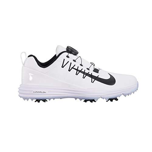 Nike Wmns Lunar Command 2 Boa Scarpe da Golf Donna, Bianco (Blanco 100) 40.5 EU