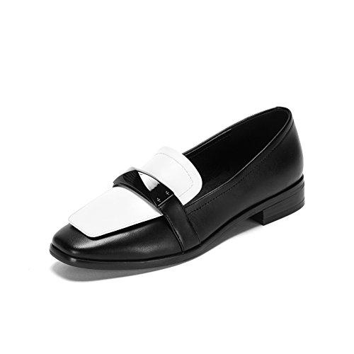 Moda scarpe/ Fuk scarpe da donna/Scarpe in pelle da donna-A Lunghezza piede=23.3CM(9.2Inch)