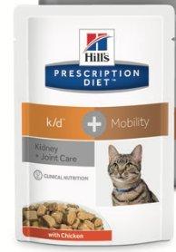 Hills Feline k/d + Mobility Dieta per Gatti 12 bustine per 85 gr