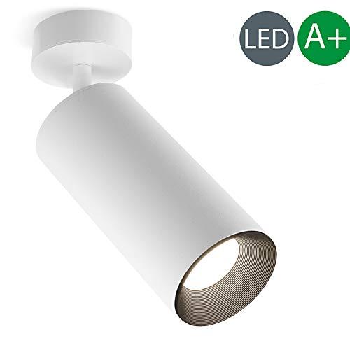 Xodzasg Lámpara techo LED,foco ajustable 360°,plafón