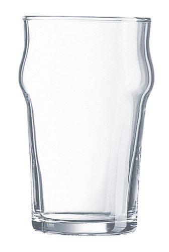 Luminarc 9229828 - Bicchiere da birra alto e a forma conica, 570ml, confezione da 2pezzi
