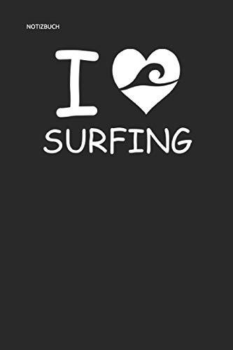 NOTIZBUCH I SURFING: Surfer Notizbuch Planer 6x9 lined