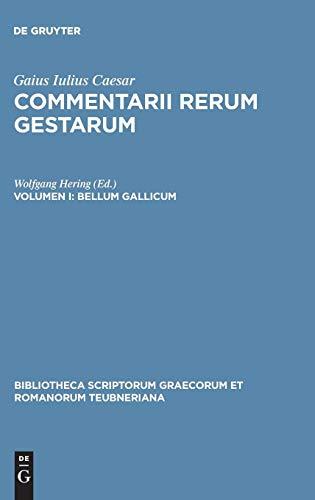 Bellum Gallicum: 1 (Bibliotheca Teubneriana) por Gaius Iulius Caesar