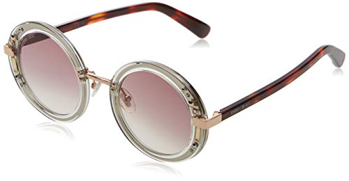 Jimmy Choo Damen GEM/S FW 2KQ 48 Sonnenbrille, Grau (Crypld Havana Pink)