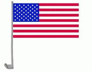 Preisvergleich Produktbild trends4cents Autoflagge Autofahne USA 30 x 40 cm
