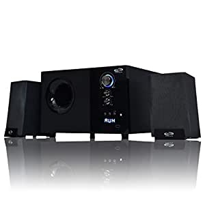 """OSCAR OSC-2152 BT 2.1 Channel Multimedia Home Theatre System,Bluetooth Connectivity with 5.25""""SW (Black)"""