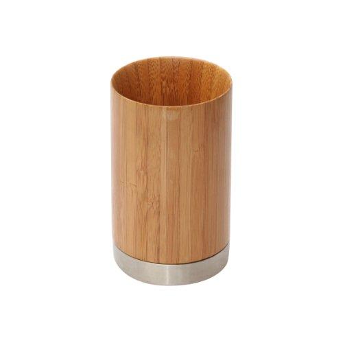 Axentia 282330 Badserie Bonja Zahnputzbecher Bambus