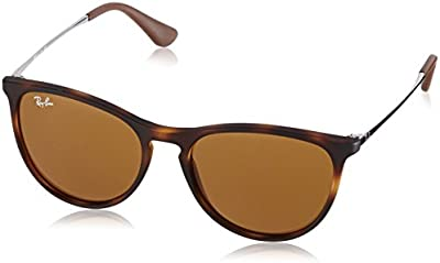 Ray Ban Junior 9060S - Gafas de sol para mujer, color rubber havana