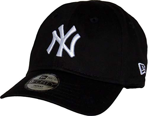 New Era League Essential 9 Forty Infant Adjustable Cap NY Yankees Schwarz, Size:Infant