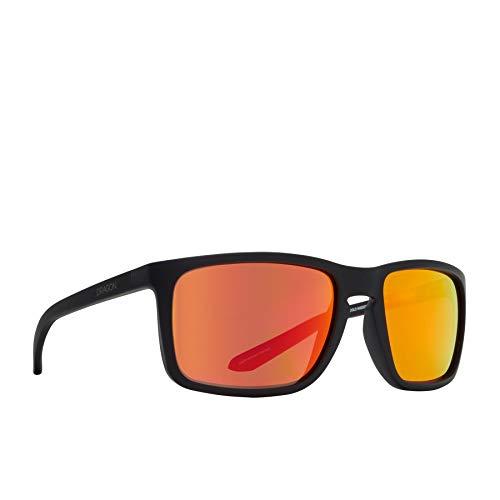 Dragon Melee Sunglasses One Size Matte Black ~ Orange Ionized
