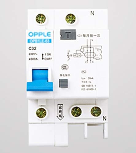 1P+N Interruptor De Circuito En Miniatura, Disyuntor Protector De Aire Protector De...