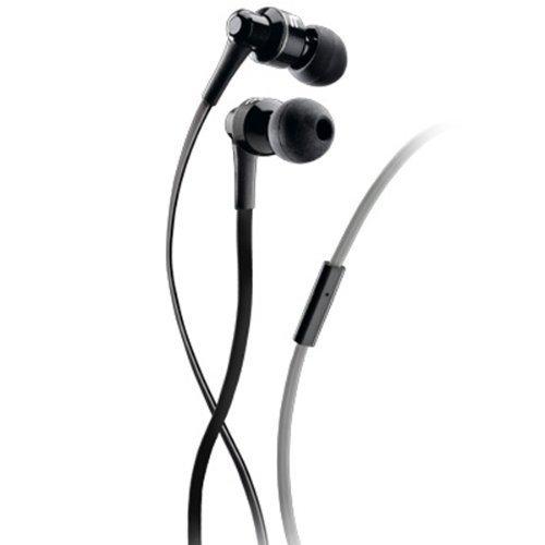 Cellular Line APMOSQUITO1 In-Ear-Kopfhörer mit Adapter für Nokia/Samsung/Sony Ericsson (3,5mm Klinkenzugang) für Handy und Smartphone schwarz Ericsson Handy Adapter