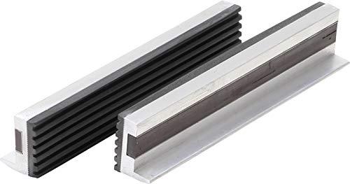 BGS 3045 | Schraubstock-Schutzbacken | 2-tlg. | Aluminium | Breite 150 mm | mit Magnet | Alu | Schonbacken