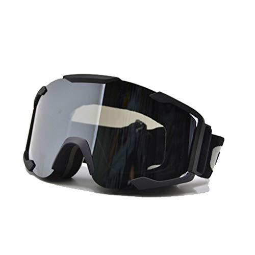 Motocross Fahrradbrille Unisex Verstellbar Winddicht UV Schutz Staubdicht Kratzfeste Brille Off Road Helme Brille
