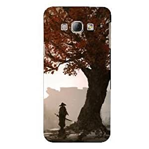 XUWAP Designer Soft Back Case Cover for Samsung Galaxy E5