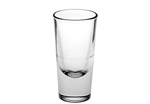 Bormioli Rocco Bistro Set 4Gläser Aperitif 13,5cl, Glas, transparent