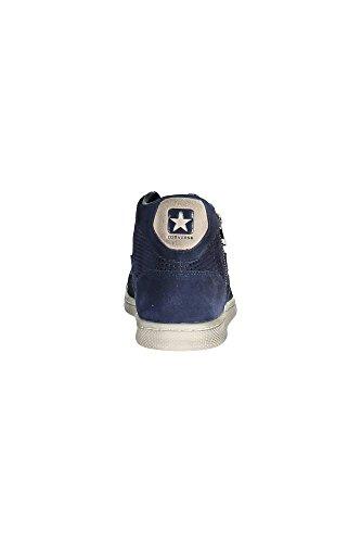 Converse - Pro Lea Lp Mid Suede Zip Perf, Sneaker alte Unisex – Adulto Blu scuro