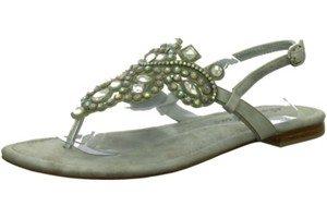 Alma en Pena 200-1, Sandali donna, argento (argento), 41 EU