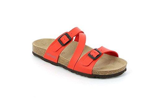 Grunland sara, scarpe da spiaggia e piscina donna, rosso (rosso), 39 eu