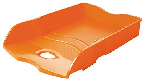 HAN Briefablage HAN LOOP 10290-51 in Trend Colour Orange/Variabel stapelbare Papierablage/In modernem Design/Für Briefe & Papiere bis Format A4–C4, 6 Stück