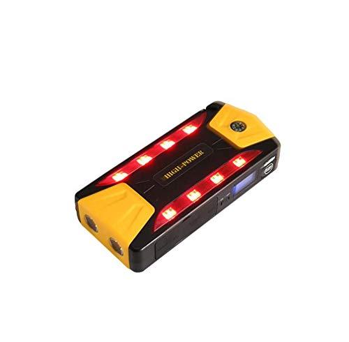 Starthilfe, 20000Mah Tragbares Auto-Starthilfe-Kit, 12V Autobatterie-Powerbank-Booster Und Ladegerät Mit 4 Leuchtmodi, 4 USB-Ausgangsschnittstellen -