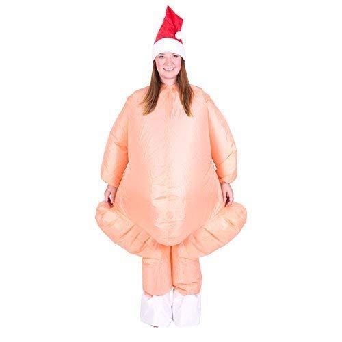 Bodysocks® Aufblasbares Truthahn Kostüm für Erwachsene