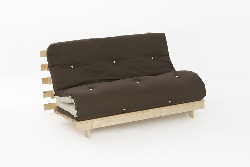 4ft     4ft luxury small double  120cm  wooden futon set with premium      rh   uk rattanfurniture