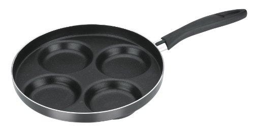 Tescoma Bratpfanne für Pancakes, schwarz, 30 x 23.6 x 7.4 cm