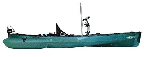 Angelkajak Tahe Marine Fit 123 im Test: Fakten und Besonderheiten - 2