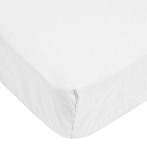 65cm 100% Baumwolle weiß/grau gestreift - Größe - 65 cm (0-6 Monate) - Kinousses (Schlafsäcke Rabatt)