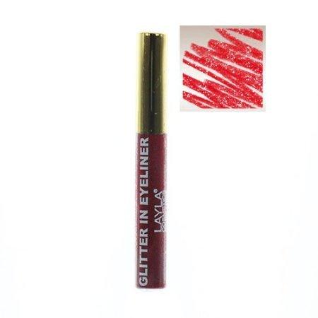 Layla Cosmetics Milano Glitter in Eyeliner 6-6 ml -