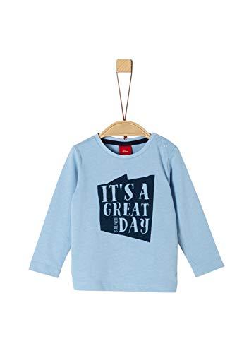 s.Oliver Baby-Jungen 65.909.31.8910 T-Shirt, Blau (Blue 5312), (Herstellergröße: 92)