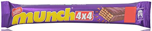 Nestle Munch Coated Wafer - Chocolate, 32g Pouch