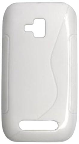 Bluetrade BT-TPU-NL610W Coque en TPU Type S pour Nokia Lumia 610 Blanc