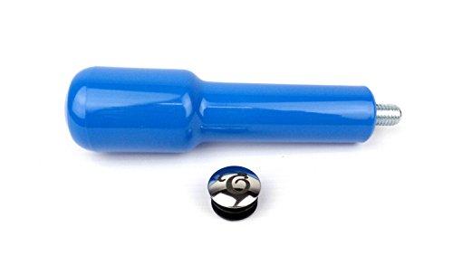 EDESIA ESPRESS - Ersatz-Griff für Siebträger aus Kunststoff - M10-Gewinde - blau