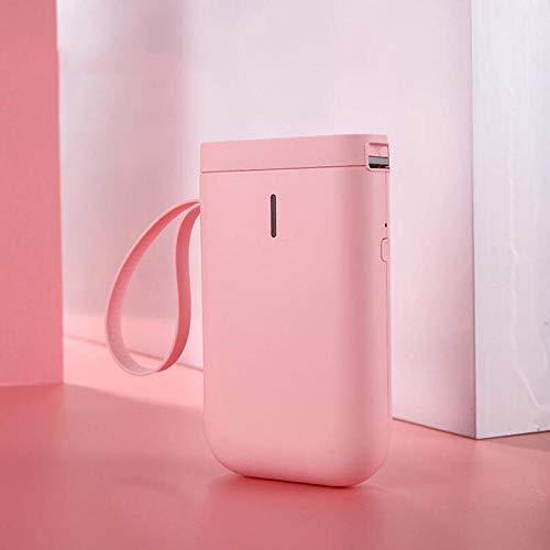Preisschild-Maschine Tragbarer Kleiner Mini-Namensschild-Preisschild-Heimdrucker-Pink