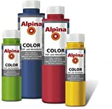 ALPINA COLOR Abtönfarbe, Bastelfarbe, Wandfarbe, Sweet Violet, 250 ml 11,96 €/L.
