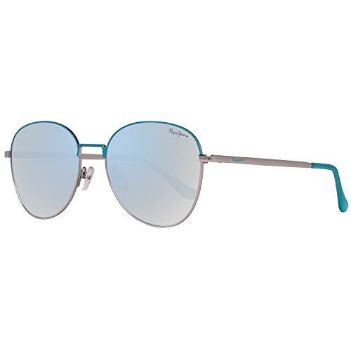 Pepe Jeans Damen PJ5136C254 Sonnenbrille, Silber (Silver), 54