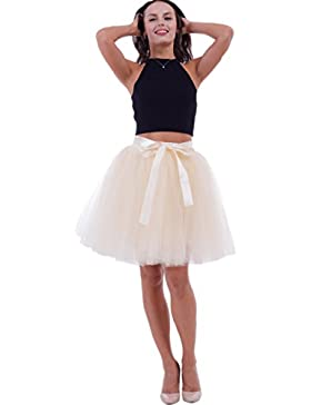 SCFL falda del ballet de la enagua del enaguas de la falda medio