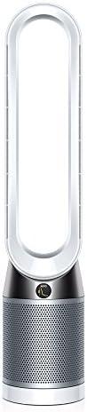 Dyson Pure Cool Purifier Fan - Tower (White/Silver) - UAE 3-Pin Plug - 2 Year UAE Warranty