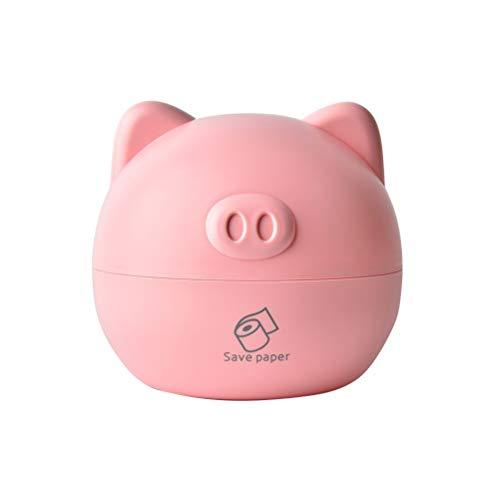 Arbeitsplatte Eitelkeit (TOPBATHY 1 STÜCK Nette Schwein Tissue Box/Tissue Box Abdeckung für Einweg Papier Kosmetiktücher, zur Lagerung auf Bad Eitelkeit, Arbeitsplatte, Schlafzimmer Kommode)