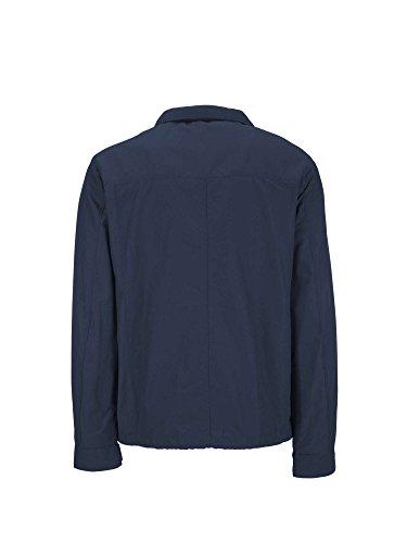Geox Man Jacket, Manteau Homme Bleu