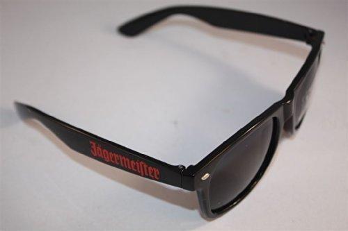 Jägermeister Sonnenbrille mit Schriftzug + Bacardi Schlüsselband im Set