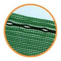 Nutley's Kitchen Gardens FLE19SN10 10 x 1m 50 Percent Windbreak Shade Net - Green 5